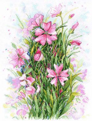 Набор для вышивания М.П. Студия «Симфония цветов»