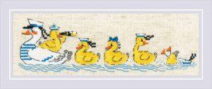 Набор для вышивания крестом Риолис «По морям, по волнам»