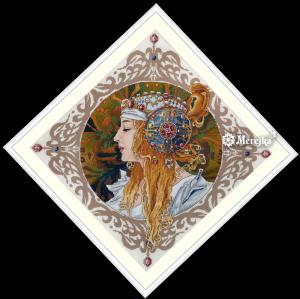 Набор для вышивания Мережка «Блондинка»