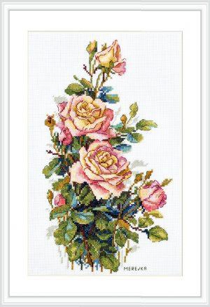 Набор для вышивания Мережка «Желтые розы»