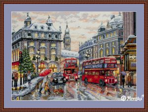 Набор для вышивания Мережка «Лондон»