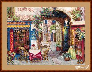 Набор для вышивания Мережка «Кафе в Вероне»