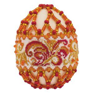Яйцо пасхальное Риолис «Рябиновые бусы»