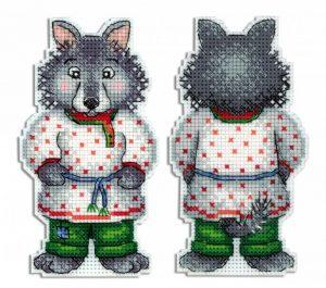 Набор для вышивания Жар-Птица «Серый волк - зубами щелк»