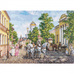Набор для вышивания Алиса «Тройка. Храм Христа» alisa.3-31