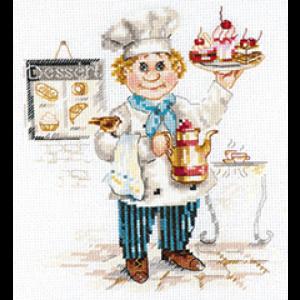Набор для вышивания Алиса «Кондитер» alisa.6-12