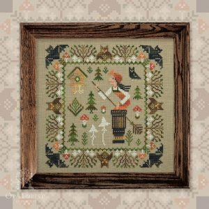 Набор для вышивания OwlForest «Баба Яга»