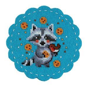 Набор для вышивания Дивная вишня «Давай дружить!» LP-F014