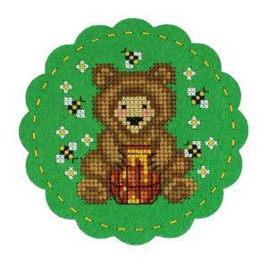 Набор для вышивания Дивная вишня «Лакомка» LP-F015