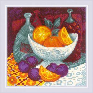 Набор для вышивания крестом «Апельсины»