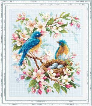 Набор для вышивания Чудесная игла «Весенняя песня» 130-041