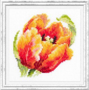 Набор для вышивания Чудесная игла «Красный тюльпан» 150-010
