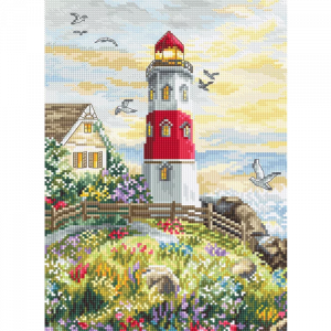 Набор для вышивки крестом Letistitch «The Lighthouse» Маяк
