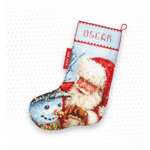 Набор для вышивки крестом Letistitch «Christmas Stocking» Рождественский сапожок