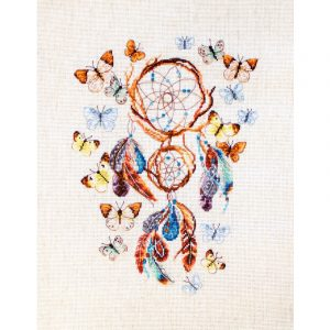 Набор для вышивки крестом Letistitch «Keep your dreams safe» Ловец снов