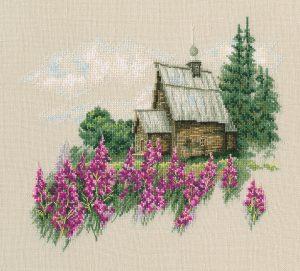 Набор для вышивки крестом RTO «Теплый мир цветущего лета»