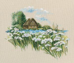 Набор для вышивки крестом RTO «Теплый мир цветущего лета 2»
