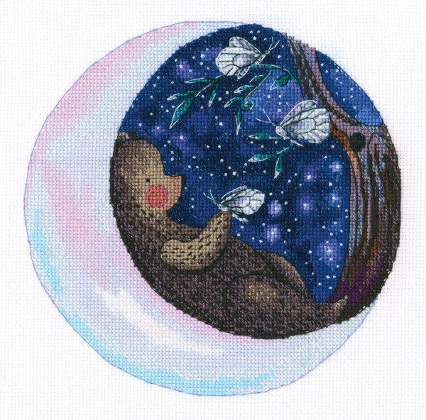 Набор для вышивки крестом RTO «Нежные сказки звёзд»