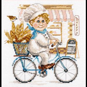 Набор для вышивания Алиса «Пекарь»