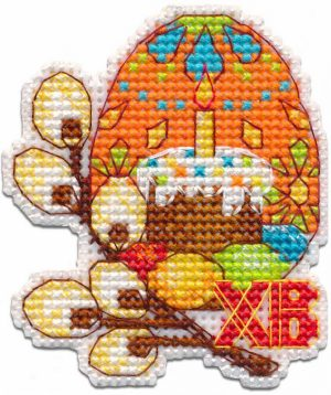 Набор для вышивания Овен «Пасхальное яйцо.Магнит» 1289ov