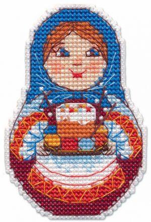 Набор для вышивания Овен «К Светлому празднику. Магнит» 1290ov