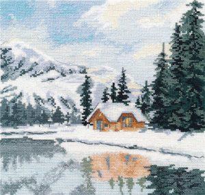 Набор для вышивания Овен «Озеро Луиз» 1295ov