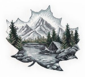 Набор для вышивания Овен «Наедине с природой» 1296ov