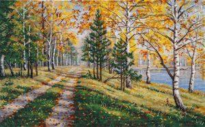 Набор для вышивания Овен «Осенняя пора» 1294ov