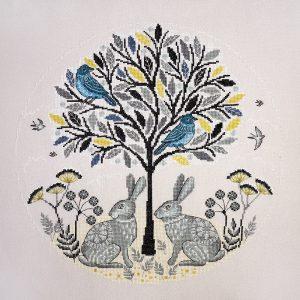 Набор для вышивания Марья Искусница «Пара зайцев»