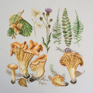 Набор для вышивания Марья Искусница «Лисички»