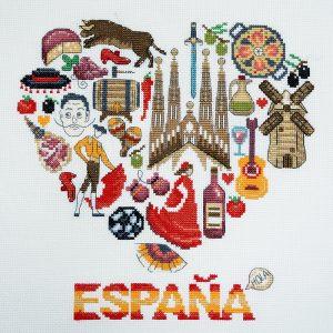 Набор для вышивания Марья Искусница «Испания»