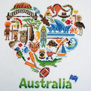 Набор для вышивания Марья Искусница «Австралия»