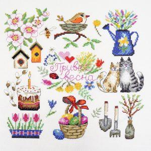 Набор для вышивания Марья Искусница «Весна»