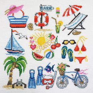 Набор для вышивания Марья Искусница «Лето»