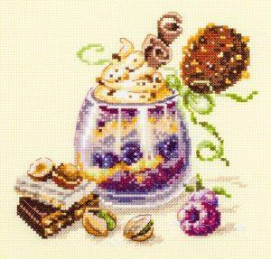 Набор для вышивания Чудесная игла «Шоколадный десерт»