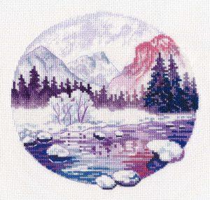 Набор для вышивания Овен «Сиреневые сны»