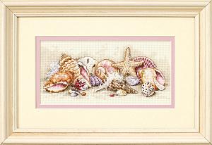 Набор для вышивания DIMENSIONS «Морские сокровища» DMS-65035