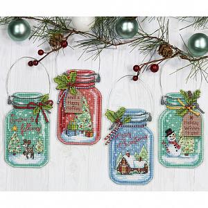 Набор для вышивания DIMENSIONS «Рождественские украшения»