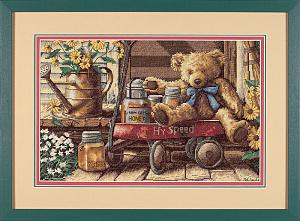 Набор для вышивания DIMENSIONS «Медовый мишка»