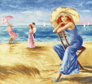 Набор для вышивания Золотое Руно «Песчаные дюны»