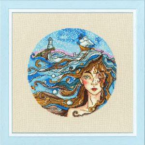 Набор для вышивания Золотое Руно «Мечты о море»