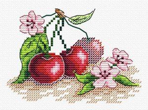Набор для вышивания Жар-Птица «Сочная вишня» М-516