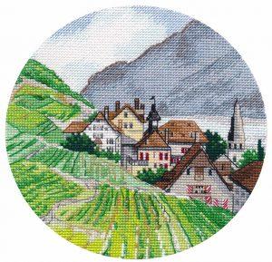 Набор для вышивания Овен «Миниатюра.Альпы» 1286ov