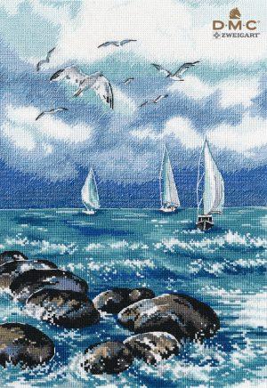 Набор для вышивания Овен «О, море, море» 1308ov