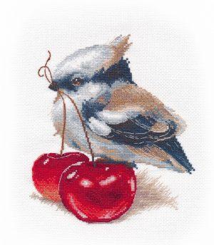 Набор для вышивания Овен «Пернатый гурман» 1309ov