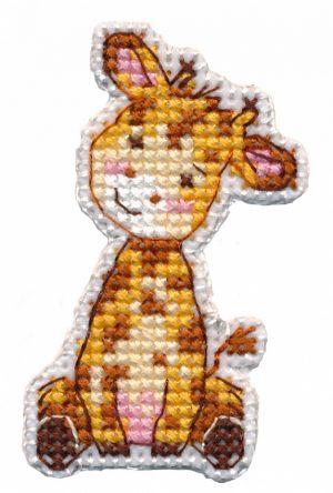 Набор для вышивания Овен «Значок-жираф» 1320ov