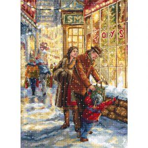 Набор для вышивания крестом Letistitch «Ожидание Рождества» Christmas expectation LETI.943