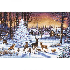 Набор для вышивания крестом Letistitch «Рождественский Лес» Christmas Wood LETI.947