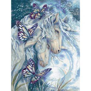 Набор для вышивания крестом Letistitch «Вместе Мы-Волшебство» Together We Are Magic LETI.950