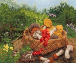 Набор для вышивания Золотое Руно «Лесные дары» СМ-032